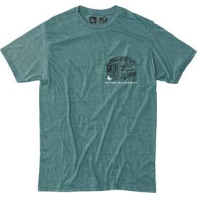 Hippy Tree Roadside Kortærmet T-shirt Herrer grøn